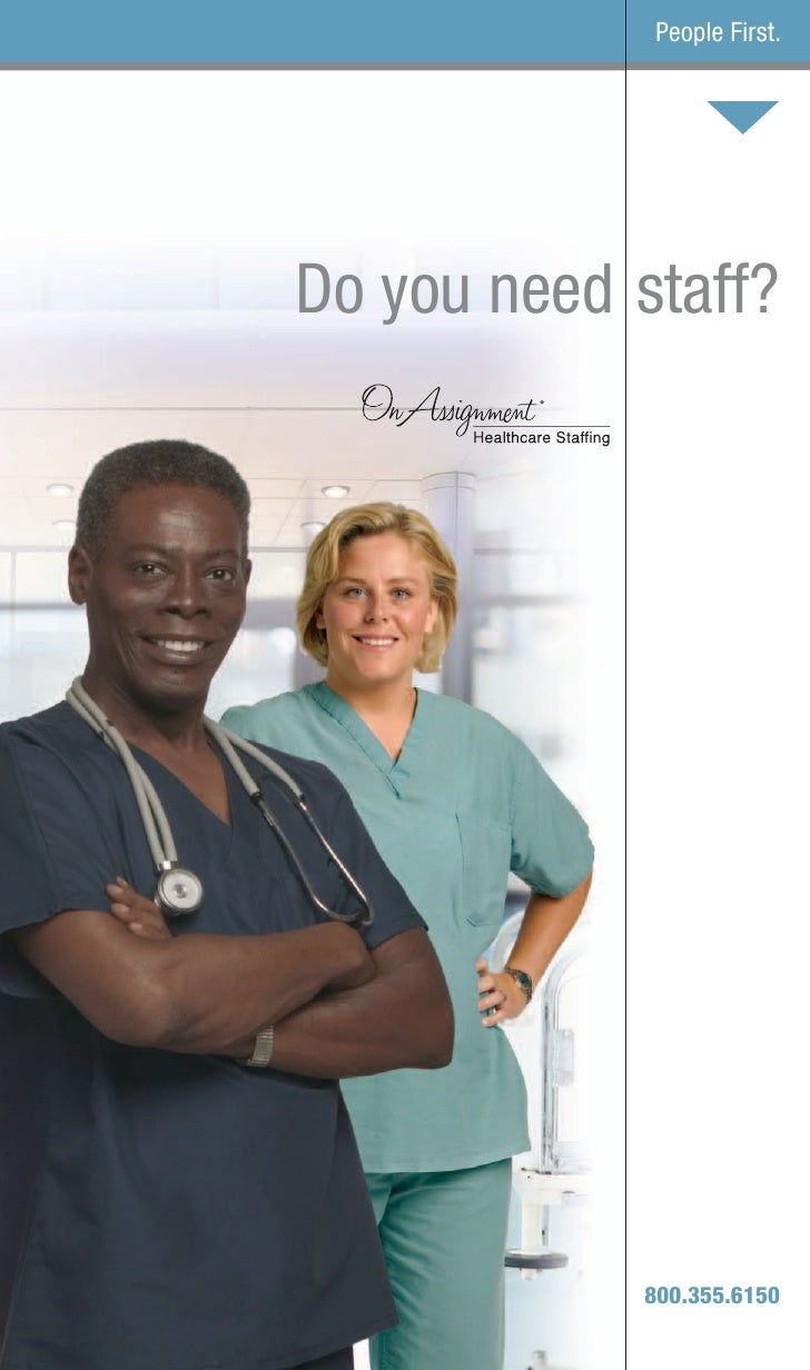 On Assignment Healthcare Client Brochure