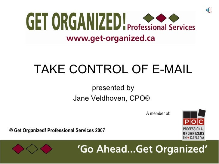 Take Control of Email