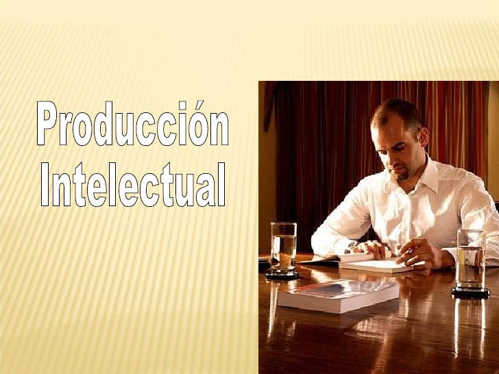 Prodcuccion Intelectual