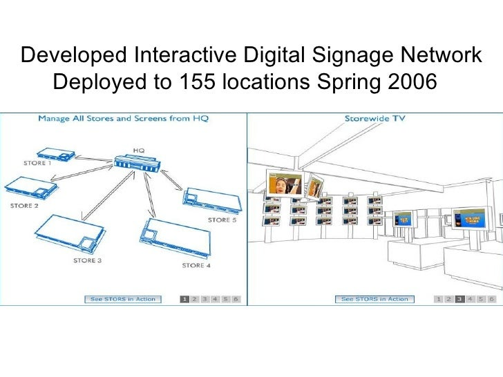 how to create a digital signage network