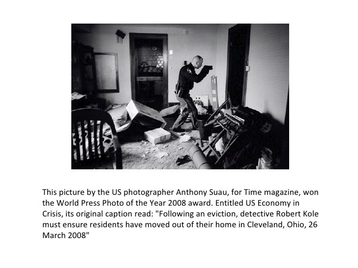 This picture by the US photographer Anthony Suau, for Time magazine, won the World Press Photo of the Year 2008 award. Ent...