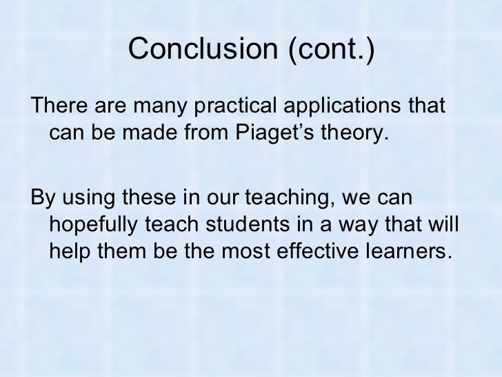 By a research paper cheap for jean piaget