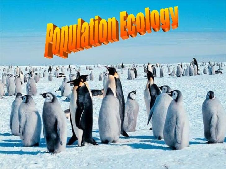 Population Ecology Intro