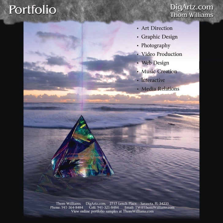 Photography / Graphics / Web Portfolio