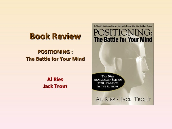 Details of Positioning The Battle for Your Mind