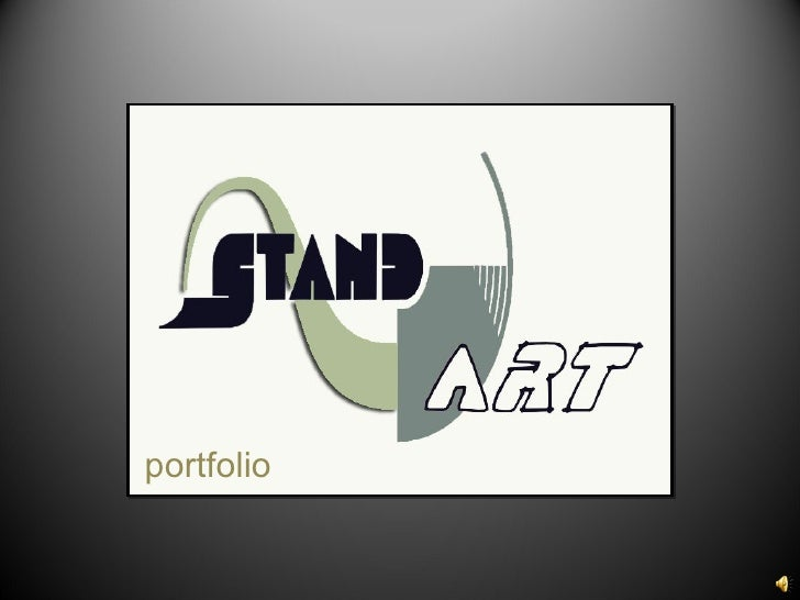 Presentation of Stand Art designs and visualizations