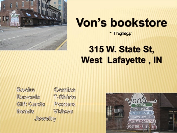 Independent Bookstore vs. Chain Bookstore