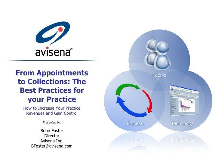 Presentation - Best Practices
