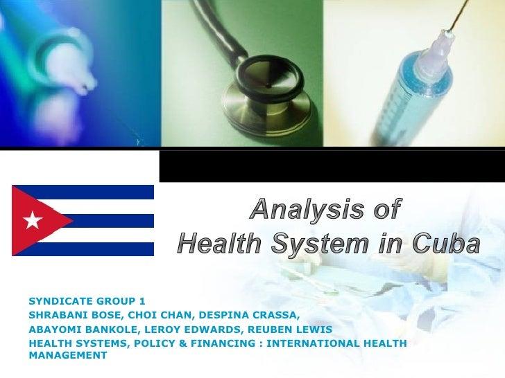 essay health care system