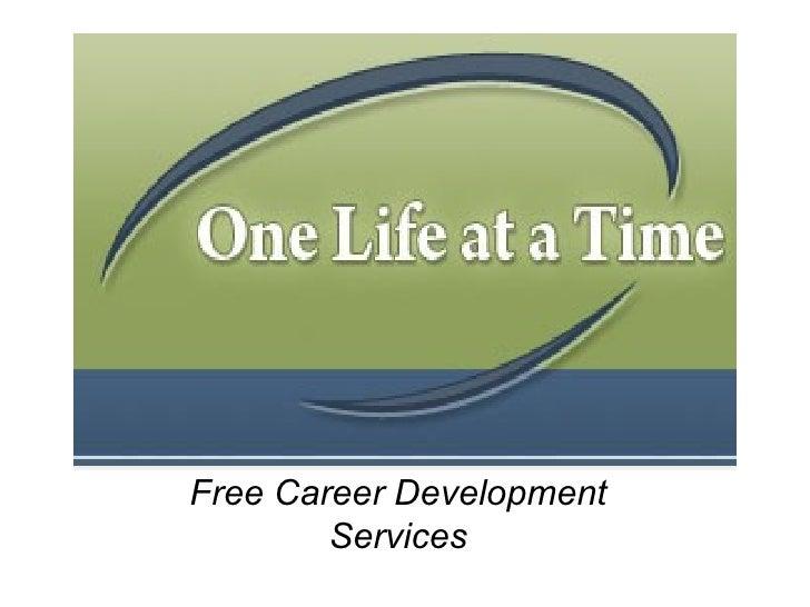 Free Career Development Services