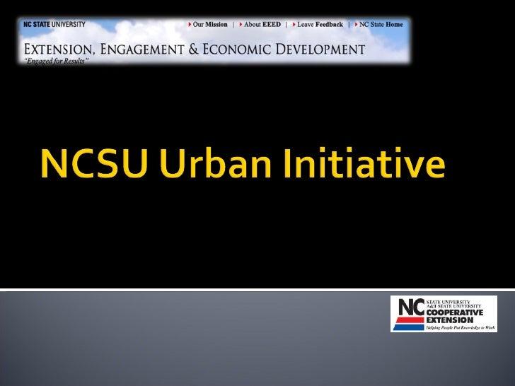 NCSU Partnership Potential
