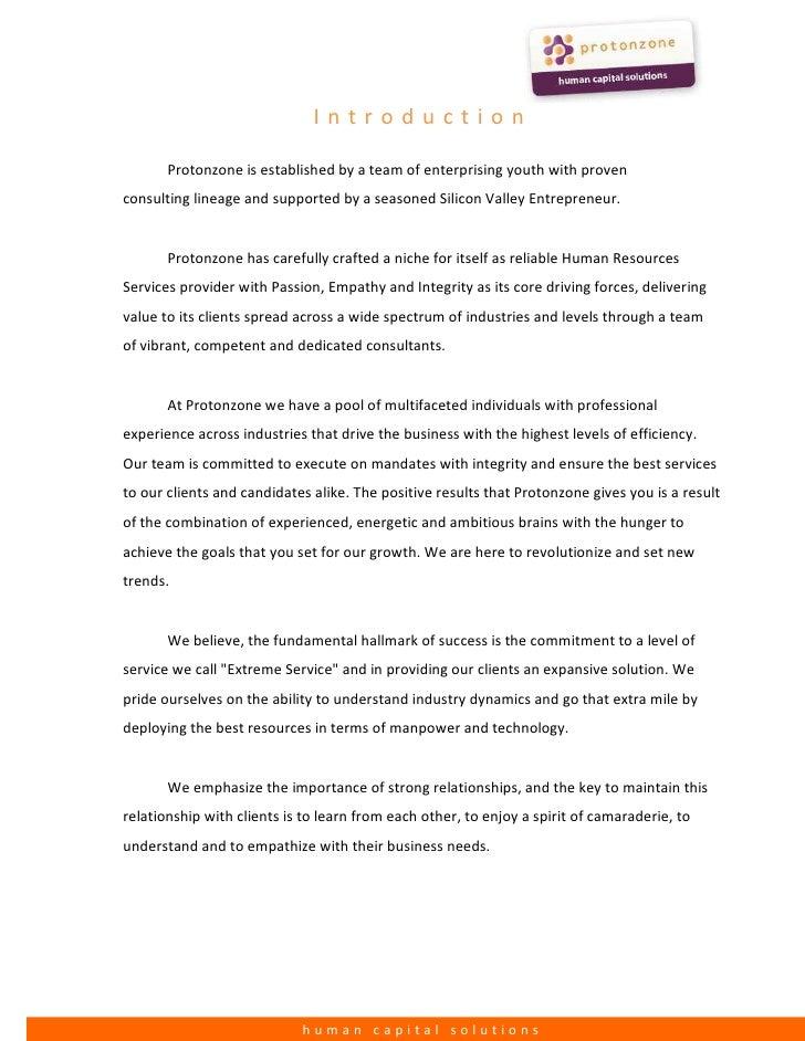 Protonzone Consulting