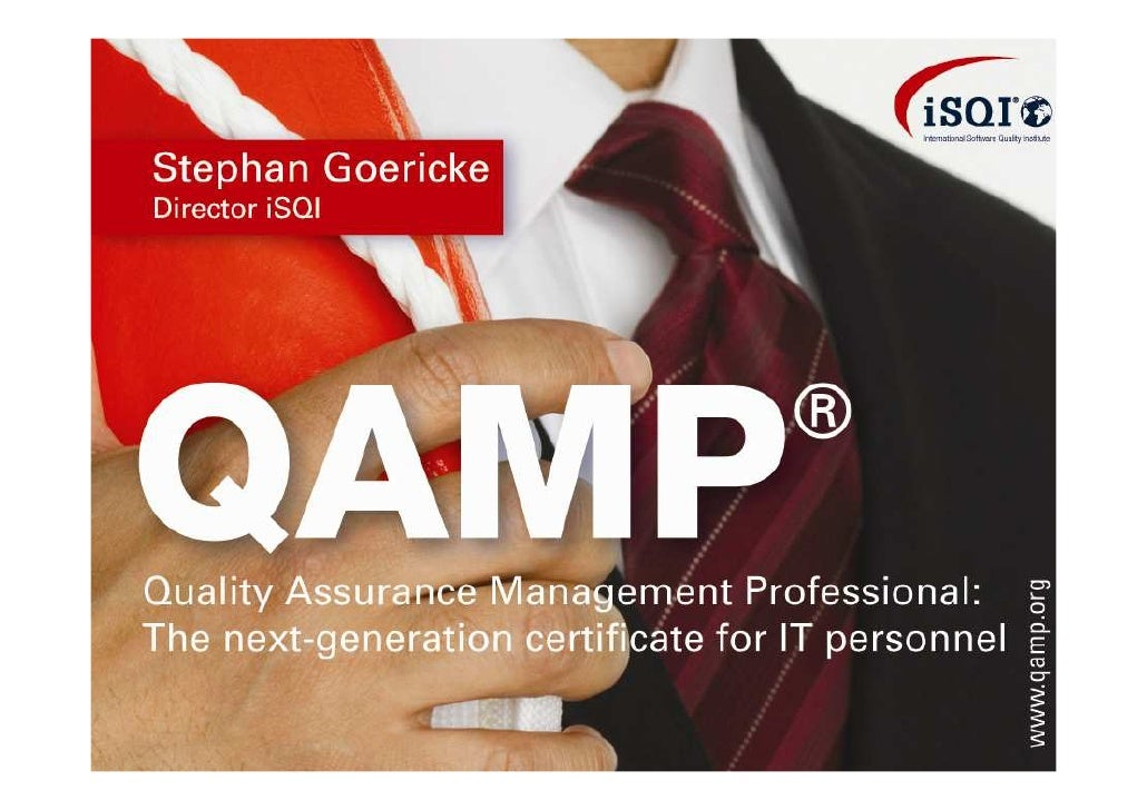 QAMP (Quality Assurance Management Professional)