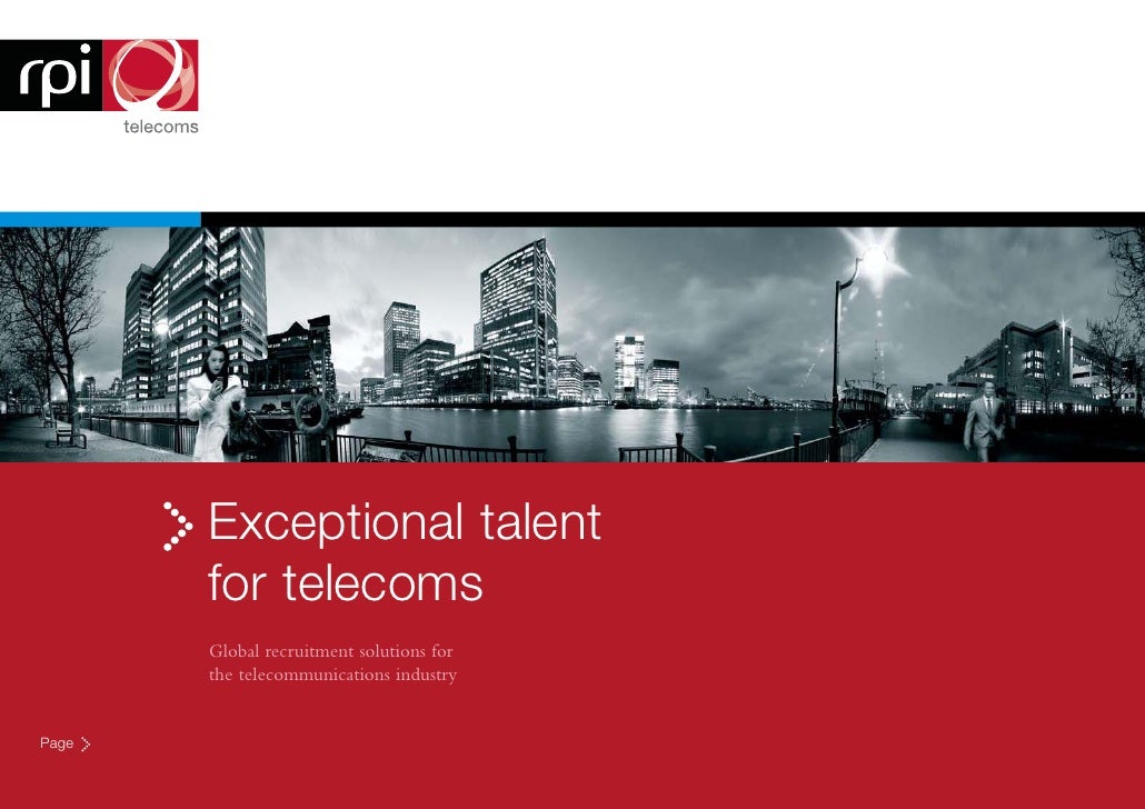 Exceptional talent        for telecoms        Global recruitment solutions for        the telecommunications industry   Pa...