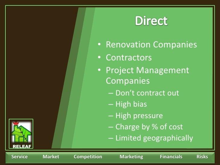 Renovation business plan