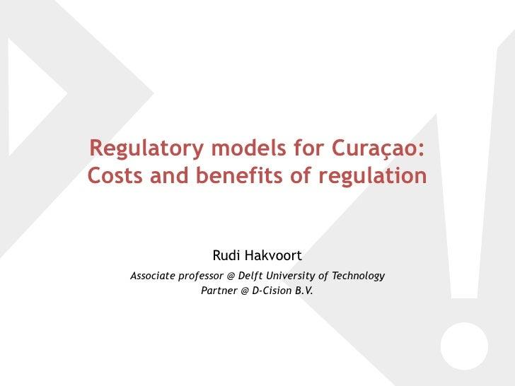 Regulatory Models For CuraçAo