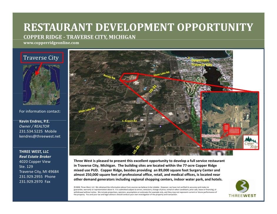 Restaurant Opportunity, Traverse City, MI