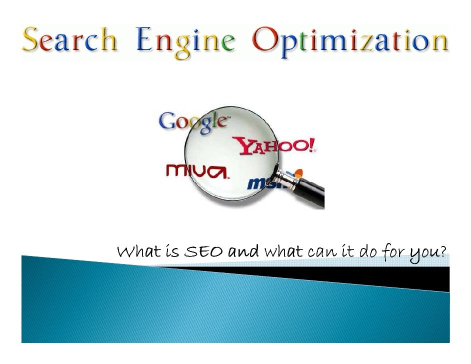What is SEO and what can it do for you?
