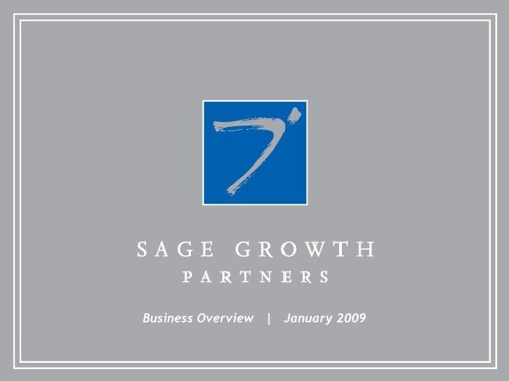 Sgp Corporate Capabilities Jan 2009