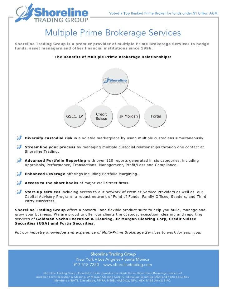 Multiple Prime Brokerage Services