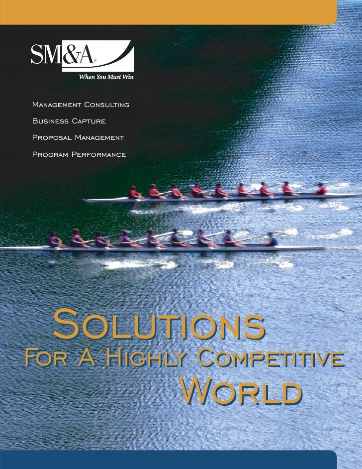Management Consulting Business Capture Proposal Management Program Performance       Solutions For A Highly Competitive   ...