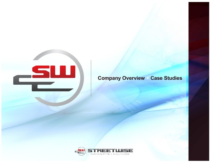 StreetWise Company Overview