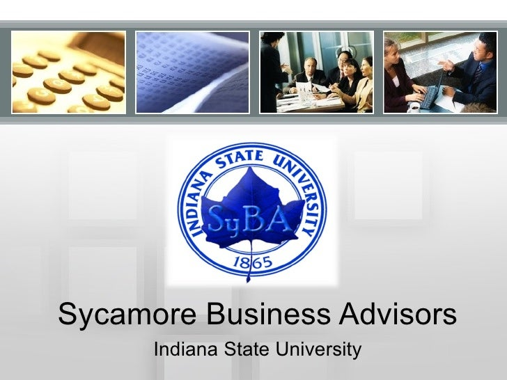 Sycamore Business Advisors Indiana State University