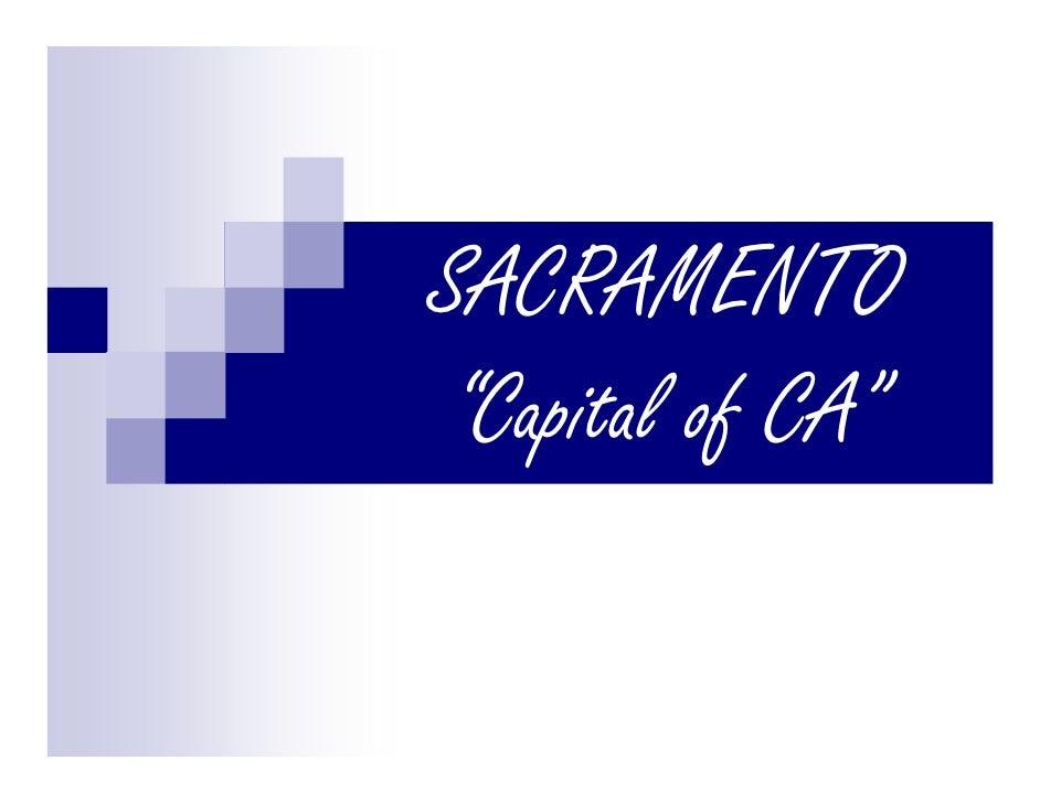 Sacramento Stats
