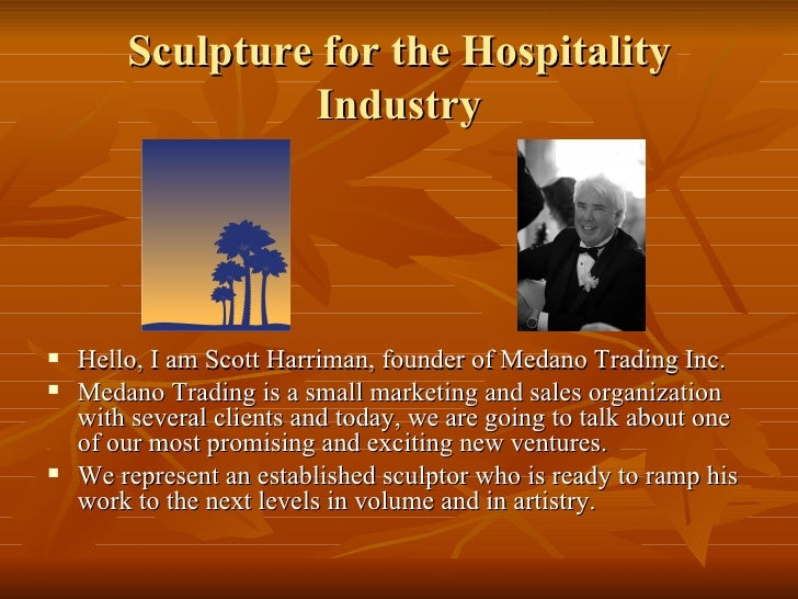 Sculpture For The Hospitality Industry Ver 2