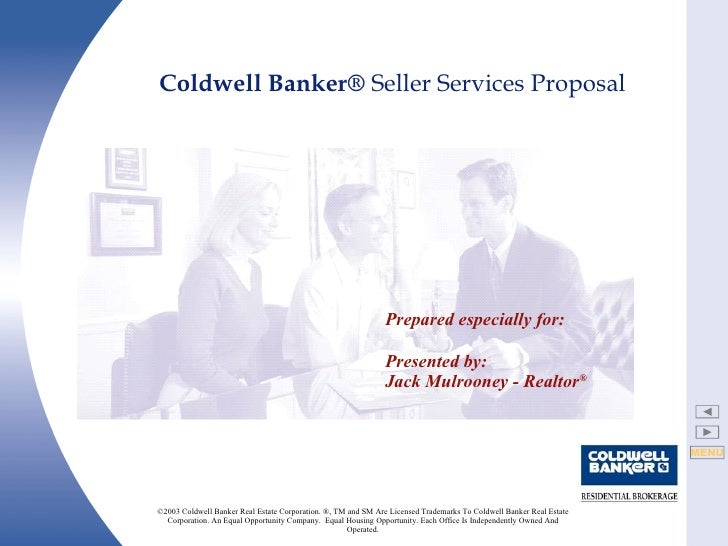 ©2003 Coldwell Banker Real Estate Corporation. ®, TM and SM Are Licensed Trademarks To Coldwell Banker Real Estate Corpora...