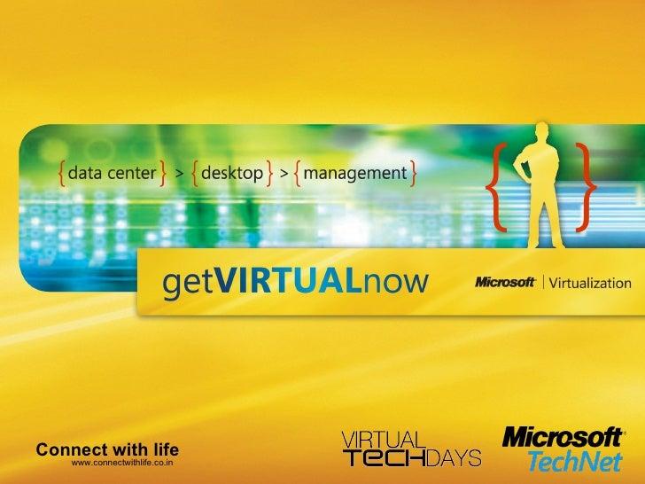 Server And Desktop Virtualization1.0 Dhanasekaran V