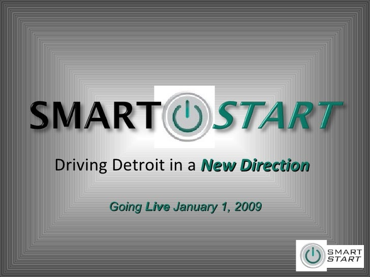 Driving Detroit in a  New Direction Going  Live  January 1, 2009