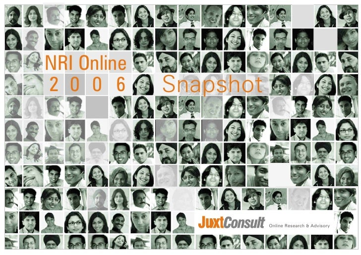 Internet usage and behavioral study of NRI - 2006