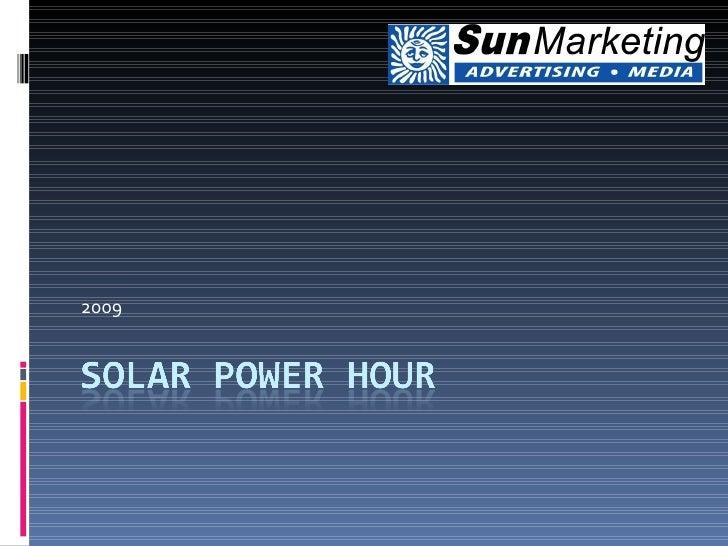 Solar Power Hour