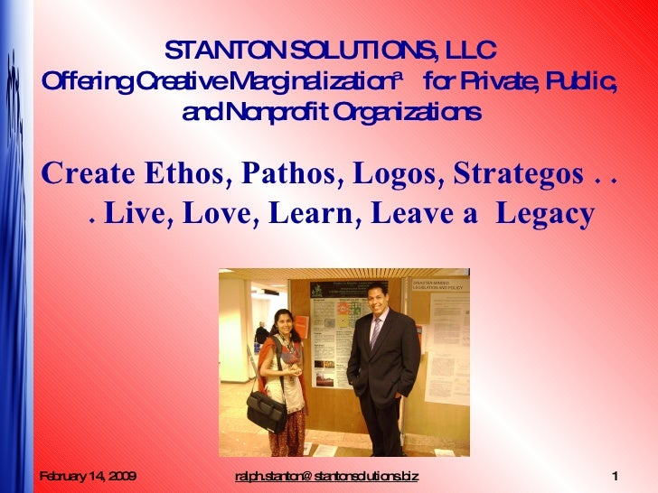 Stanton Solutions And Creative Marginalization™
