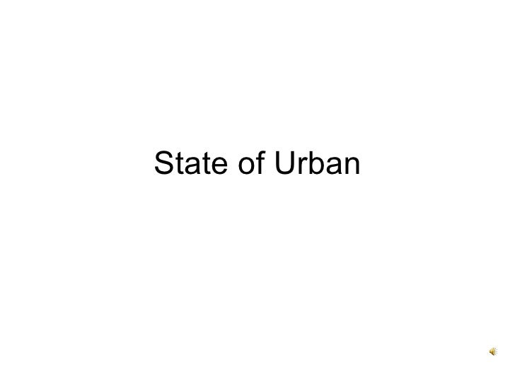 State of Urban
