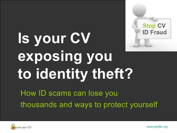 Stop Cv Fraud