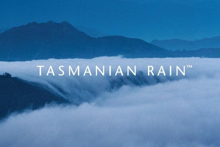 Tasmanian Rain