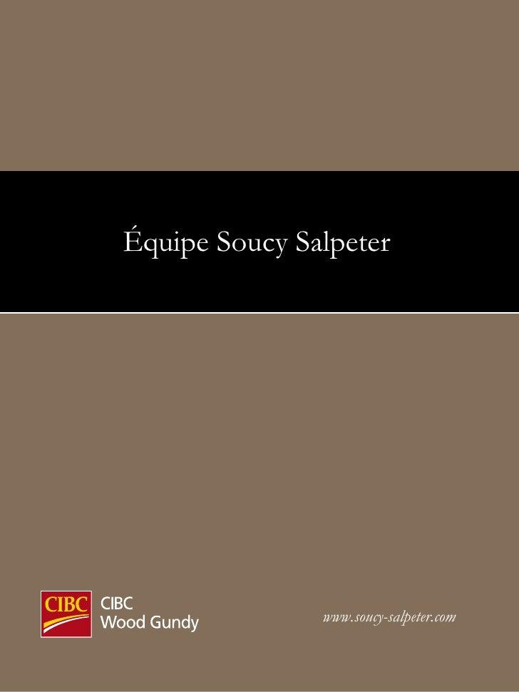 www.soucy-salpeter.com Équipe Soucy Salpeter