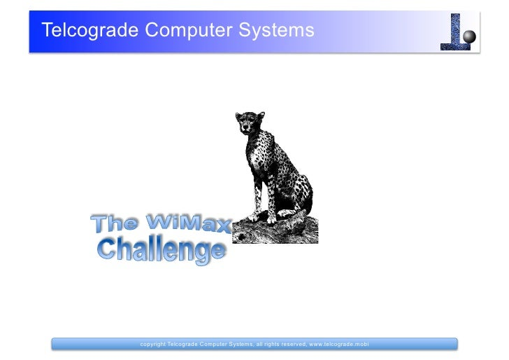 The Wimax Challenge V1.1