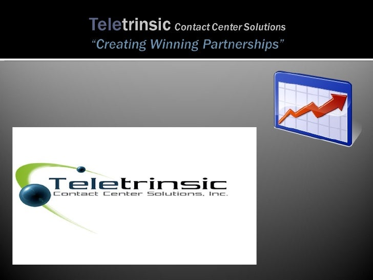 Teletrinsic Contact Center Solutions Ppp