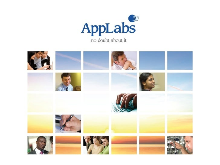 Testing Centre Of Excellence From AppLabs