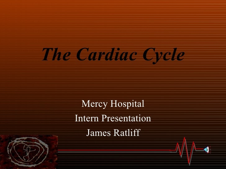 The Cardiac Cycle7