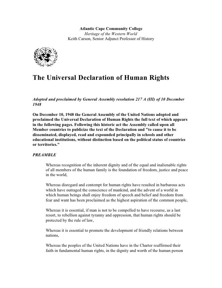 Essay Of Human Rights And Environment