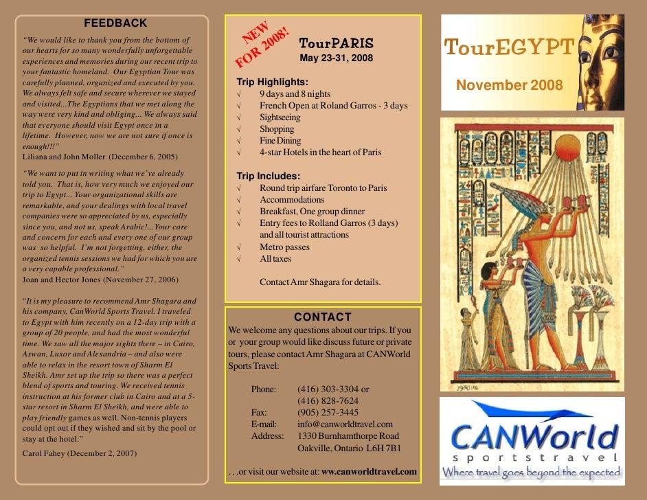 Tour Egypt2008