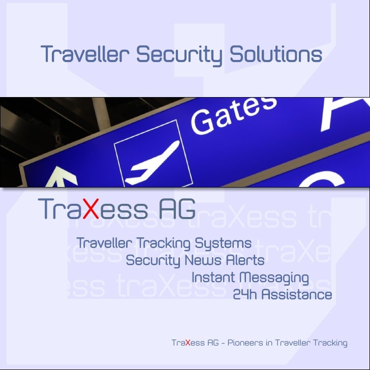 Traxess Traveller Security Solutions English