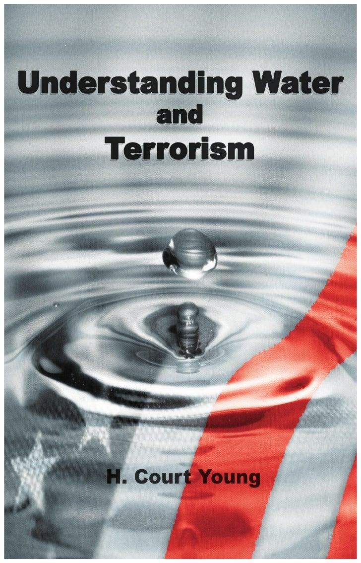 Understanding Water and Terrorism