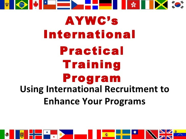 Using International Recruitment To Enhance Your Programs