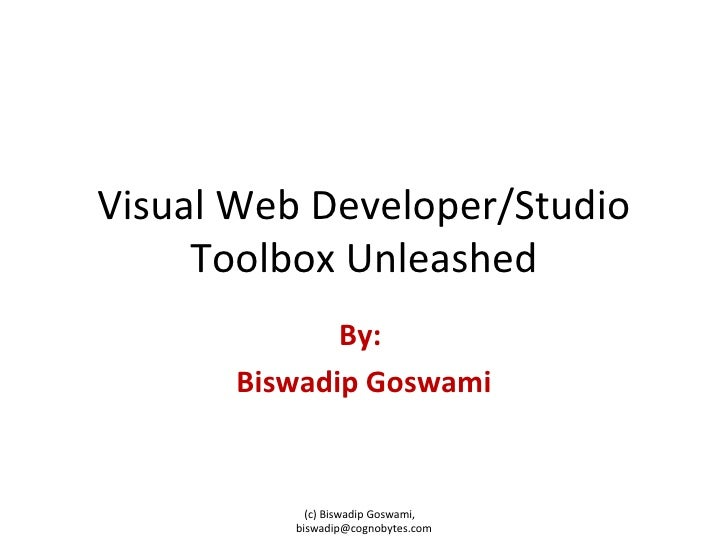 Visual Studio Toolbox Unleashed
