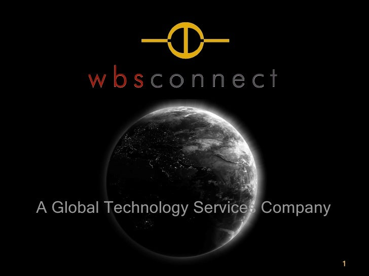 WBS Connect Company Presentation
